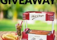 Nostalgia Retro Hot Dog Roller Giveaway - Win Retro Hot Dog Roller