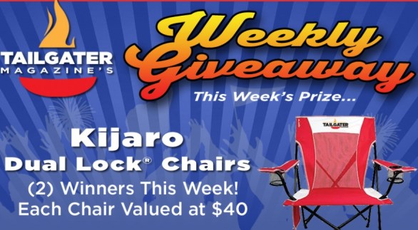 Tailgater Magazine Weekly Giveaway