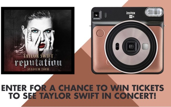 Taylor Swift Concert Tickets Sweepstakes