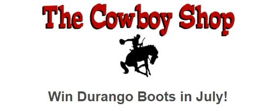 The Cowboy Shop Giveaway