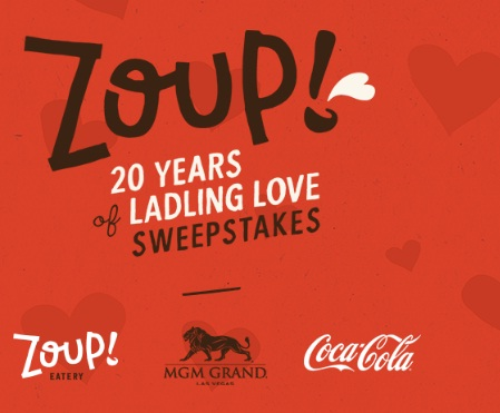 Zoup 20 Years Of Ladling Love Sweepstakes