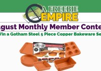 A Freebie Empire August Monthly Member Contest