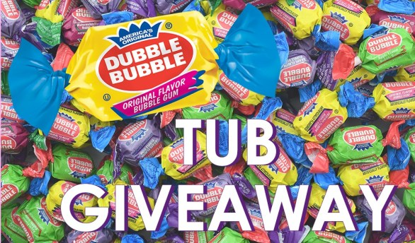 Dubble Bubble Tub Giveaway