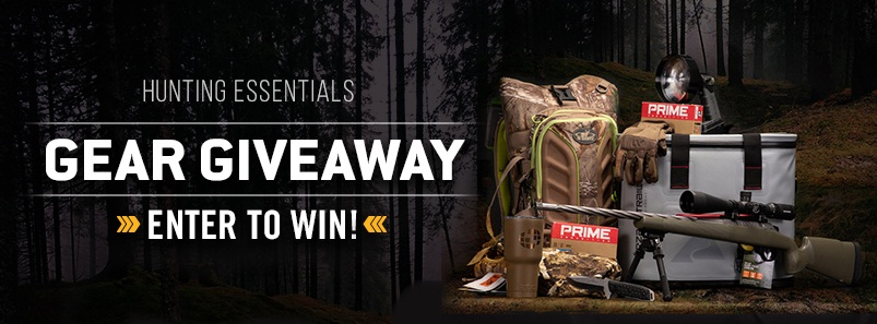 Win a 2018 hunting trip giveaways