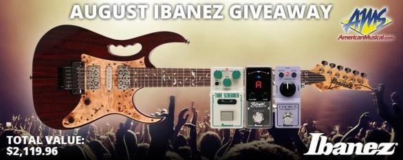 Ibanez Giveaway