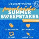 Namco Pool Poolside Summer Sweepstakes