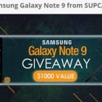 Samsung Galaxy Note 9 Giveaway