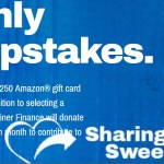 Sharing Is Caring Monthly Sweepstakes