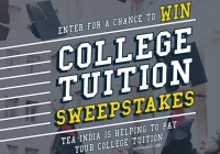Tea India College Tuition Sweepstakes