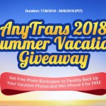 iMobile AnyTrans Summer Vacation Giveaway