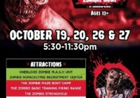 97.9 KISS FM The Hunted Brewery Zombie Hunt Contest