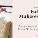 Allswell Fall Bedroom Makeover Sweepstakes