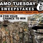 Camo Tuesday Sweepstakes