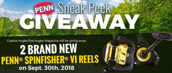 Coastal Angler Magazine Penn Sneak Peek Giveaway