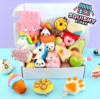 Lady Kawaii Squishy Kiosk Giveaway