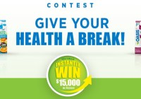 Oasis Give Your Health A Break Contest