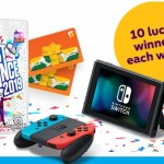 Subway And Just Dance Family Game Night Sweepstakes
