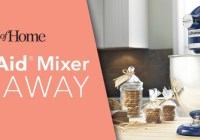 Taste of Home KitchenAid Mixer Giveaway
