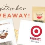 Teami September Giveaway