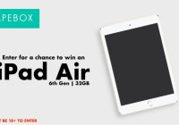 Vapebox iPad Giveaway