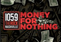 1059 The Rock Nashville Money For Nothing Sweepstakes