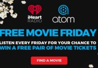 106.7 The Eagle Free Movie Friday Sweepstakes