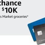 Amazon Visa Card $10K Groceries Sweepstakes