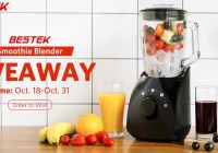 Bestek Smoothie Blender Giveaway