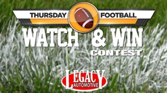 FOX 55 Thursday Football Watch & Win Sweepstakes