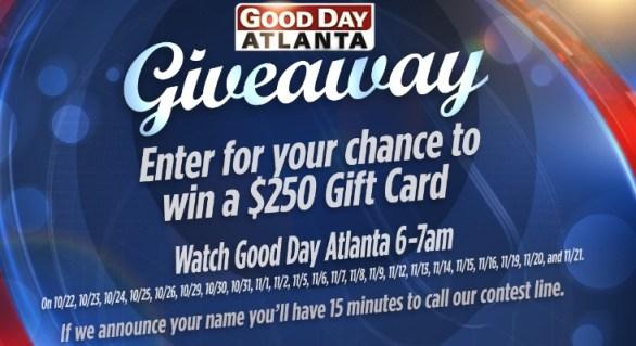 Good Day Atlanta Giveaway