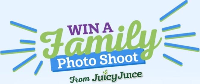 Juicy Juice Family Photo Shoot Sweepstakes