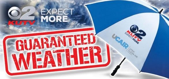 KUTV Guaranteed Weather Umbrella Sweepstakes