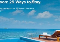 Marriott 29 Ways To Stay Instant Win Game