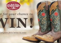 One Country Laredo Boots Giveaway