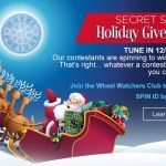 Wheel of Fortune Secret Santa Holiday Giveaway