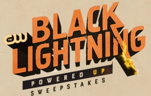 The CW Black Lighting Powered Up Sweepstakes