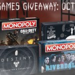 USAopoly Ghoulish Games Giveaway