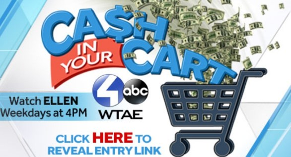 WTAE Ellen Cash In Your Cart Sweepstakes