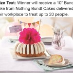 Wdef Nothing Bundt Cakes Contest