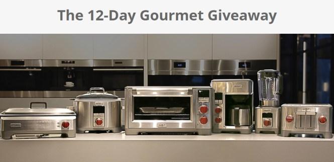 Sub-Zero/Wolf/Cove Showroom 12-Day Gourmet Giveaway