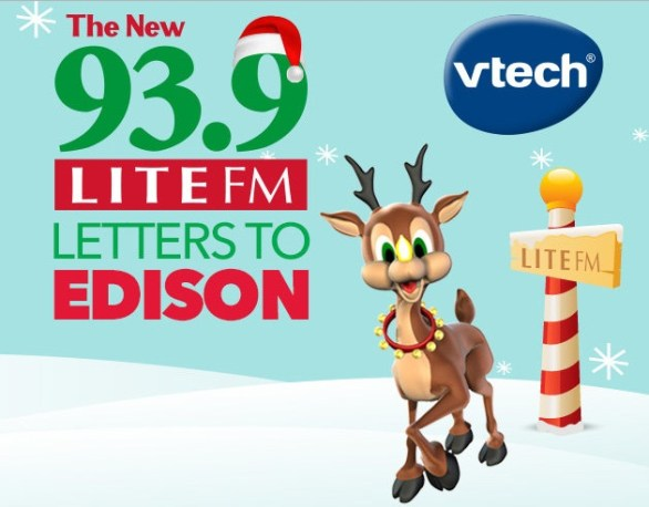93.9 LITE FM Letters To Edison VTech Toys Sweepstakes