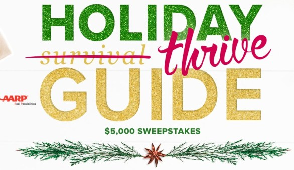 AARP Holiday Thrive Guide Sweepstakes