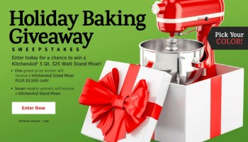 Kenmore Ovation Mixer Giveaway - Chance To Win Stand Mixer