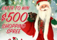 Annalee Santa Shopping Spree Giveaway
