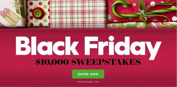 Better Homes And Gardens Black Friday $10,000 Sweepstakes