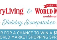 Country Living And World Market Holiday Sweepstakes