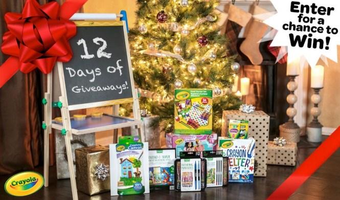 Crayola 12 Days Of Giveaways Sweepstakes