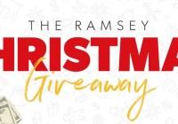 Dave Ramsey Christmas Giveaway