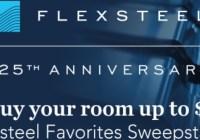 Fashion Furniture Flexsteel Favorites Sweepstakes