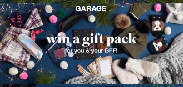 Garage Win A Gift Pack Contest
